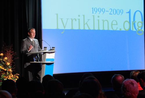 Eröffnung der Festwoche zu 10 Jahre lyrikline.org