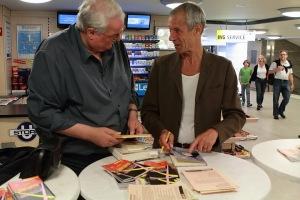 Dichtraum, Denkraum mit Eberhard Häfner am 18. Juni 2011. Foto: gezett