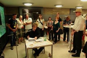 Dichtraum, Denkraum: Timo Berger am 21. Juni 2011. Foto: gezett