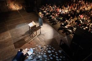 Dichterinnenperformance Weltklang 2015 foto: gezett
